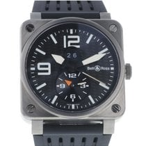 Bell & Ross Titanium Automatic 42mm pre-owned BR 03-51 GMT