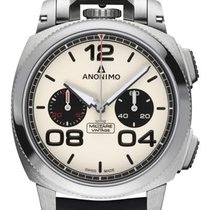 Anonimo Militare Steel 43.50mm White