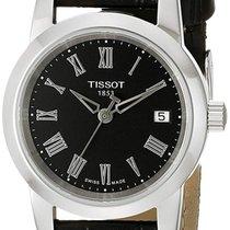 Tissot Classic Dream Stål 28mm Sort Romertal