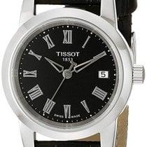 Tissot Classic Dream Zeljezo 28mm Crn Rimski brojevi