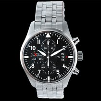 IWC Pilot Chronograph Steel 43.00mm Black United States of America, California, Burlingame