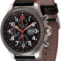 Zeno-Watch Basel OS Pilot Chrono Minute Bezel Day-Date