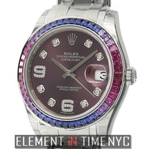 Rolex White gold 39mm Red Arabic numerals United States of America, New York, New York