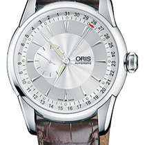 Oris Artelier Small Second Steel Silver United States of America, New York, Brooklyn