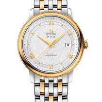 Omega Gold/Steel 39.5mm Automatic 424.20.40.20.02.001 new