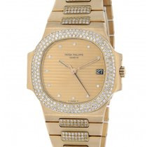 Patek Philippe Nautilus 3800/5 Yellow Gold Diamonds 37mm
