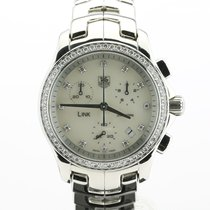 TAG Heuer Link Lady Staal 33mm Parelmoer