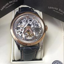Armand Nicolet Gold/Steel Manual winding 8620S-GL-P713GR2 new