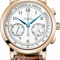 A. Lange & Söhne 1815 Rose gold 39.5mm Silver United States of America, Florida, North Miami Beach