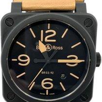 Bell & Ross BR 03-92 Ceramic Ceramic 42mm Black Arabic numerals United States of America, Florida, Naples