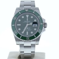Rolex Submariner Date подержанные 40mm Зелёный Дата Усложнённая застёжка