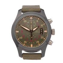 IWC Pilot Chronograph Top Gun Miramar Keramika 46mm Siv