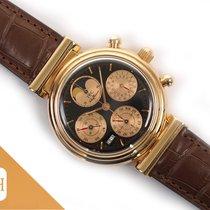 IWC Da Vinci Perpetual Calendar Aur roz 39mm Negru Fara cifre
