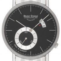 Bruno Söhnle Steel 38mm Quartz 17-13053-742 new
