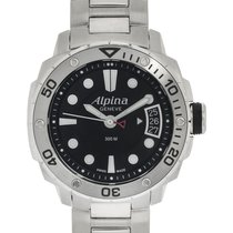 Alpina Seastrong Steel 38mm Black United States of America, New Jersey, Cresskill