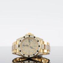 Rolex GMT-Master II Yellow gold 40mm No numerals