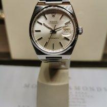 Rolex Datejust Oysterquartz Stål 36mm Silver Inga siffror