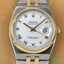 Rolex Datejust Oysterquartz Gold/Steel 36mm White Roman numerals