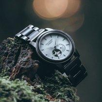 Nouvelle Horlogerie Calabrese (NHC) Acier 42mm Remontage automatique Holzkern Manhattan (Leadwood/Marble) nouveau