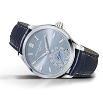 Frederique Constant Horological Smartwatch Steel 42mm Blue