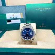 Rolex Datejust II Gold/Steel 41mm Blue No numerals United States of America, New Jersey, Woodbridge