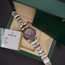 Rolex Oyster Perpetual 36 ROLEX OYSTER PERPETUAL 116000 RED GRAPE Very good Steel Automatic