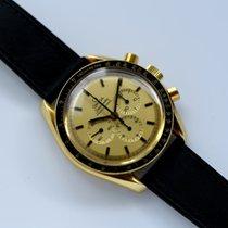 Omega Sarı altın Otomatik 42mm ikinci el Speedmaster Professional Moonwatch