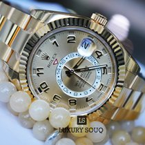 Rolex Oyster Perpetual Sky-Dweller 42mm 18K yellow gold