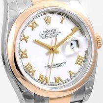 勞力士 (Rolex) Steel & Gold 36mm Datejust White Roman Oyster...