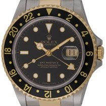 Rolex : GMT-Master II :  16713 :  18k Gold & Stainless...