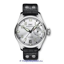 IWC Big Pilot Steel 46mm Silver Arabic numerals
