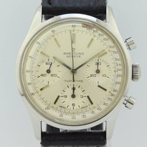 Breitling Top Time Chronograph Manual Winding Steel 810...