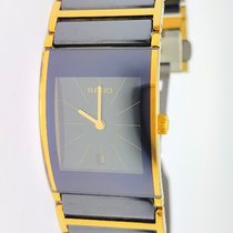 Rado DiaStar Integral Two Tone Ceramic Rectangle  Box Papers