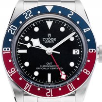 Tudor Heritage Black Bay GMT Pepsi Stahl Automatik Armband...