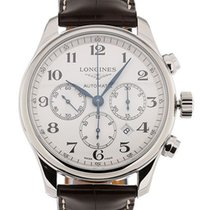 Longines L2.859.4.78.3 Steel Master Collection 44mm new