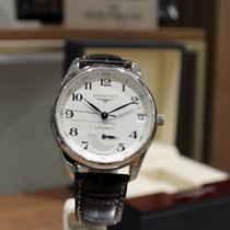 Longines 40mm Automatisk 2016 begagnad Master Collection Silver
