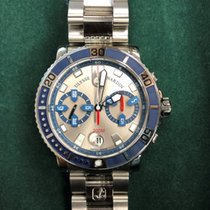 Ulysse Nardin Maxi Marine Diver new Automatic Chronograph Watch with original box and original papers 8003-102-7/91