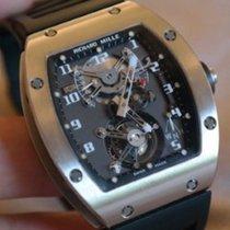 Richard Mille Witgoud Handopwind RM 002 tweedehands