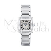 Cartier Tank Française new Quartz Watch with original box and original papers W4TA0009