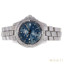 Breitling Colt Automatic Steel 39mm Blue No numerals United States of America, Pennsylvania, Philadelphia