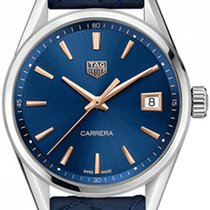 TAG Heuer Carrera Lady Steel 36mm Blue United States of America, New York, Airmont