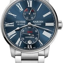 Ulysse Nardin Marine Torpilleur Steel 42mm Blue United States of America, New York, New York