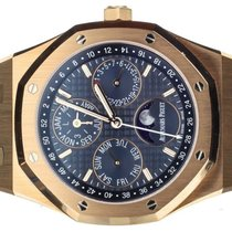 Audemars Piguet Royal Oak Perpetual Calendar Rose gold 41mm Blue United States of America, Illinois, BUFFALO GROVE
