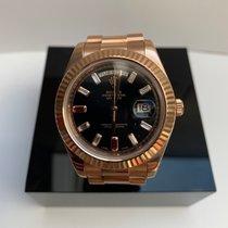 Rolex Day-Date II Złoto różowe 41mm Rzymskie
