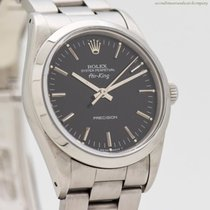 Rolex Air King Precision Steel 34mm Black No numerals United States of America, California, Beverly Hills