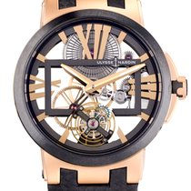Ulysse Nardin Executive Skeleton Tourbillon Pозовое золото 43mm Россия, Москва
