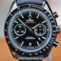 Omega Speedmaster Professional Moonwatch pre-owned 22.9mm Black Chronograph Date Tachymeter Textile