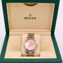 Rolex Air King Precision Steel 34mm Pink