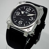 Bell & Ross BR 03-92 Steel BR0392-BLC-ST 2010 pre-owned