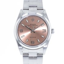 Rolex pre-owned Automatic 34mm Bronze Sapphire Glass